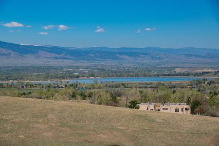 Superb beautiful landscape of Boulder Overlook on Davidson Mesa, Colorado