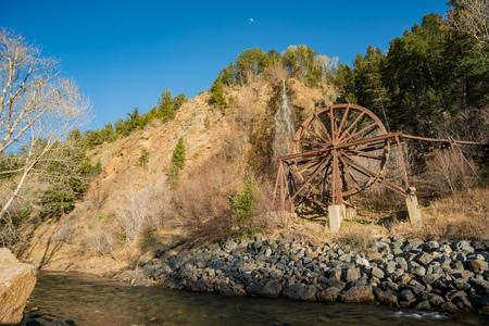Charlie Tayler Water Wheel at Idaho Springs, Colorado