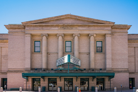 Colorado Springs, MAY 4: Exterior view of the City Auditorium on MAY 4, 2017 at Colorado Springs, Colorado Editorial