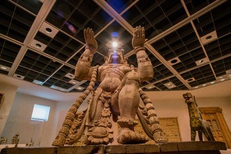 Denver, MAY 6: Dr. Interior exhibition of the Denver Art Museum on MAY 6, 2017 at Denver, Colorado Editorial