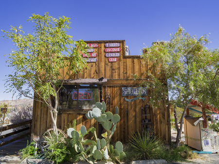 California, AUG 17: Old house in Joshua Tree National Park on AUG 17, 2014 at California