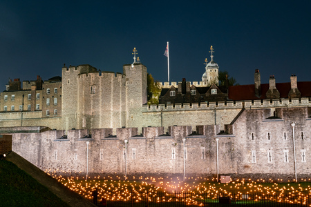 Special event - Beyond the Deepening Shadow at Tower of London, United Kingdom 新聞圖片