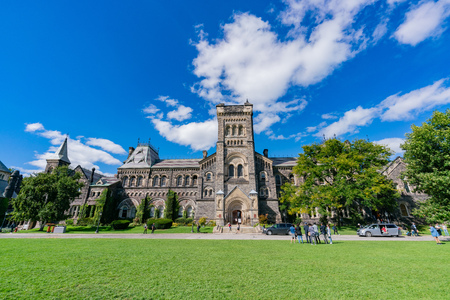Toronto, SEP 29: The famous Science for Peace of the Toronto University on SEP 29, 2018 at Toronto, Canada