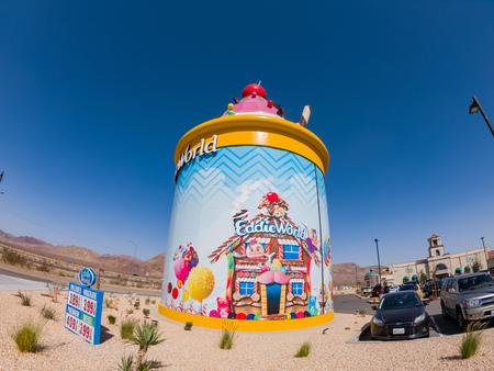Yermo, OCT 14: The Giant Ice Cream Sundae of Eddie World on OCT 14, 2018 at Yermo, California