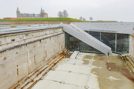 Denmark, NOV 1: Exterior view of the MS The Maritime Museum on NOV 1, 2015 at Denmark Editorial