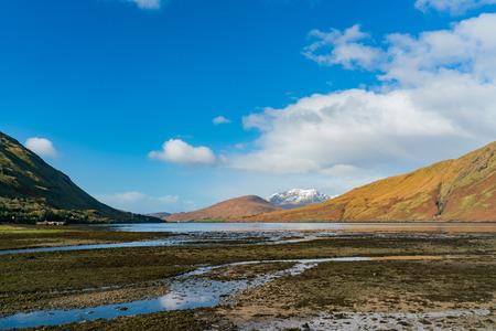 Beautiful nature scene around Connemara National Park at Galway, Ireland