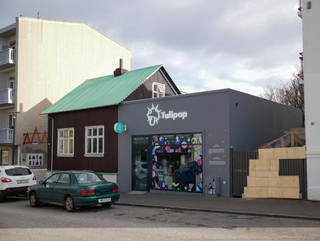 Ireland, APR 4: Cityscape of Reykjavik on APR 4, 2018 at Ireland