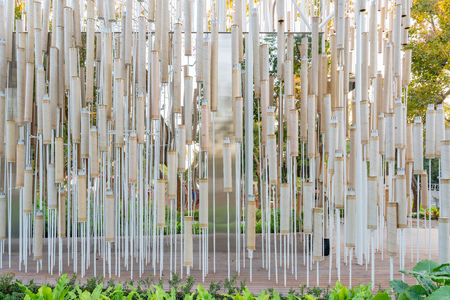Taichung, DEC 20: Cheng Loong Paper Pavilion of Taichung World Flora Exposition on DEC 20, 2018 at Taichung