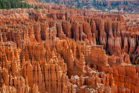 Morning view of the famous Bryce Canyon National Park from Inspiration Point at Utah