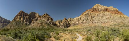 landscape around Red Rock Canyon at Nevada