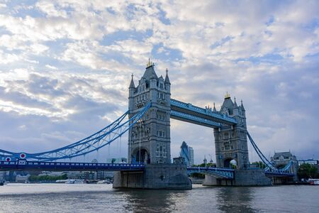 Afternoon view of the tower bridge at London, United Kingdom