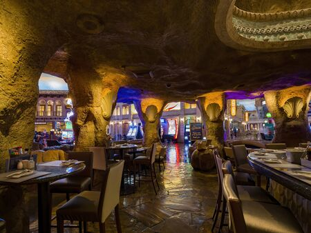 Henderson, FEB 17: Oyster Bar of the Sunset Station Hotel and Casino on FEB 17, 2020 at Henderson, Nevada