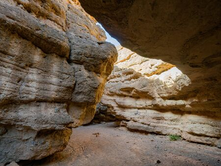 Beautiful along the famous White Owl Canyon trail at Lake Mead, Nevada