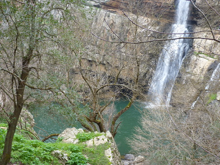 Beautiful waterfalls in Spain