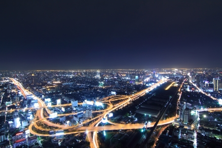 방콕 저녁 밤. 스톡 콘텐츠 - 17925745