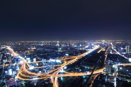 Bangkok evening night.