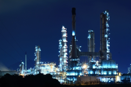 Oil refinery,Thailand photo