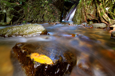 Krok E Dok Waterfall in the forest, Thailand Stock Photo