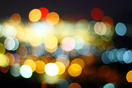 Caused by the rotating lens out of focus bokeh