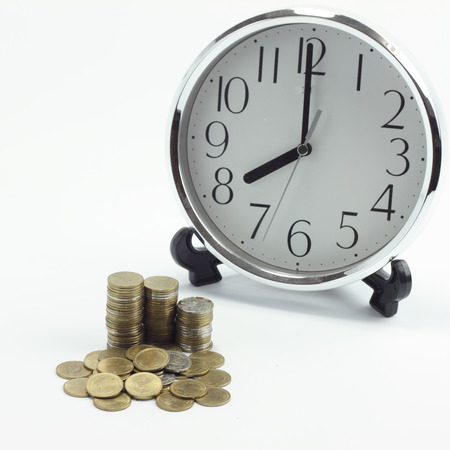 Time is money concept. Stock Photo