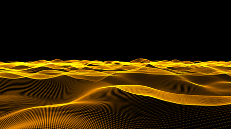 Motion Abstract light color gold effect for background. 스톡 콘텐츠