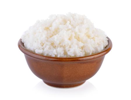 le riz dans un bol Banque d'images