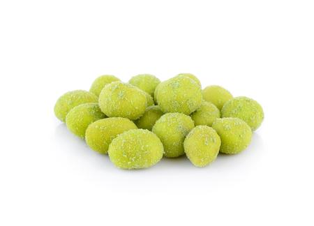 wasabi: Wasabi peas Stock Photo