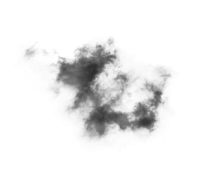 Nube negra con una capa de humo Foto de archivo - 94202799