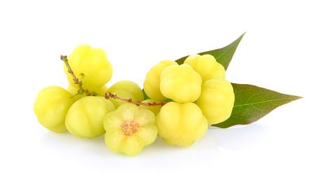 star gooseberry on white background Stockfoto