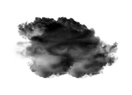 clouds on white background Archivio Fotografico