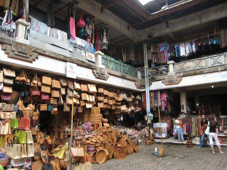 ubud: Ubud Market Stock Photo