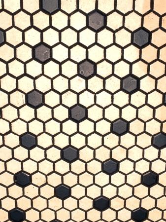 tile: Mosaic floor tiles Stock Photo