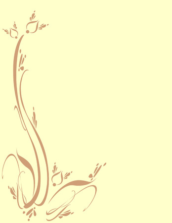 Background in earth tones, suitable for cards, flyers, letterheads, scrapbook, stationary. Vector