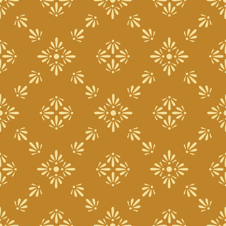 old pc: Floral seamless wallpaper tile. Created in rich earth tone colors.