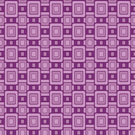 Seamless continuous wallpaper tile. Created in purple tones.