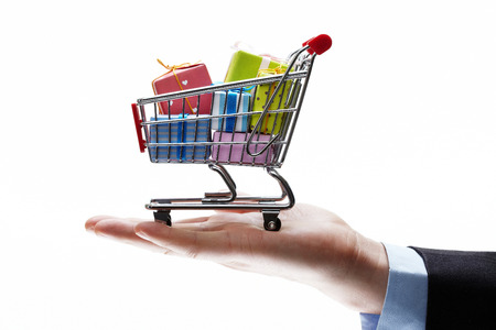 e cart: concept of buyshopping cart
