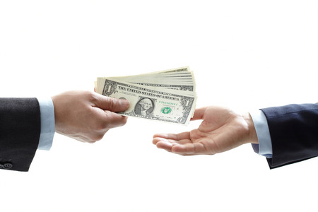 hand to hand money pass