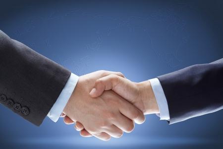 mundo manos: de negocios apret�n de manos