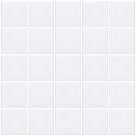 mosaic tiles: White mosaic tiles background, seamless
