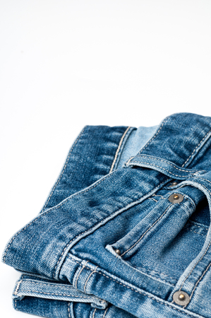 jeans pocket: Jeans, Pocket, Denim. Stock Photo