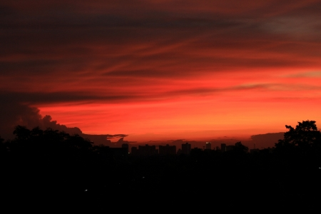 sky evening photo