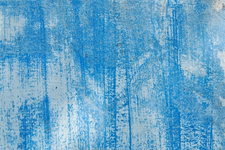 Textured blue wall photo