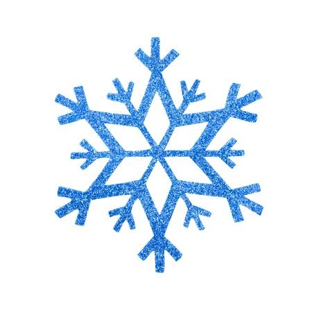 snow flake Christmas tree topper Stock Photo - 17066284