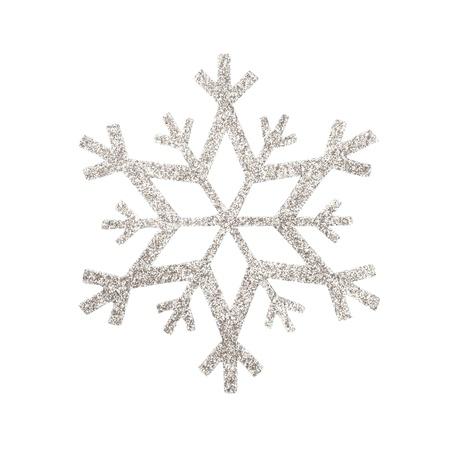 snow flake Christmas tree topper Фото со стока