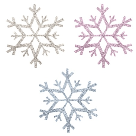 snow flake Christmas tree topper Stock Photo - 17066350