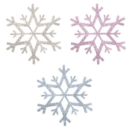 snow flake Christmas tree topper Stock Photo - 17066350