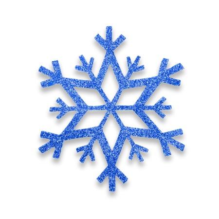 snow flake Christmas tree topper Stock Photo - 17066292