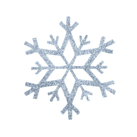 snow flake Christmas tree topper Stock Photo - 17066229
