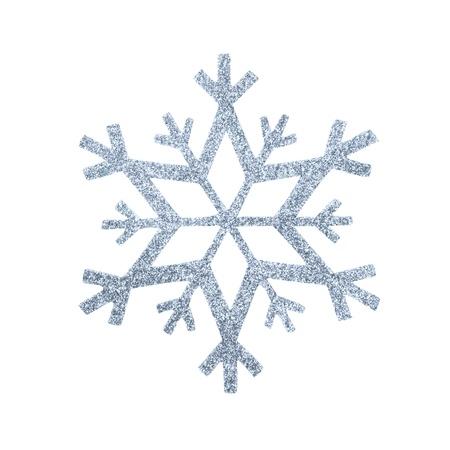 snow flake Christmas tree topper Stock Photo - 17066229