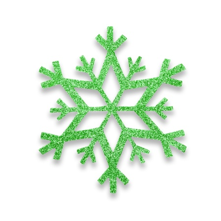 snow flake Christmas tree topper Stock Photo - 17066269
